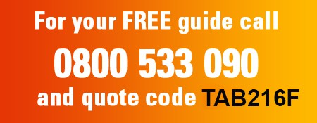 Call which? now for your free guide on 0800 533 090 and quote code TAB216F