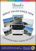 Daishs Coach UK Holidays brochure cover from 13 January, 2014