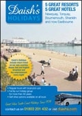 Daishs Coach UK Holidays brochure cover from 26 April, 2013