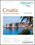 Hidden Croatia brochure cover from 20 July, 2010