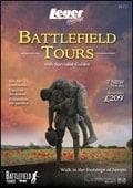 Leger Holidays - Battlefields brochure cover from 29 November, 2012