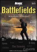 Leger Holidays - Battlefields brochure cover from 29 September, 2009