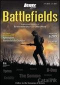 Leger Holidays - Battlefields brochure cover from 18 June, 2010