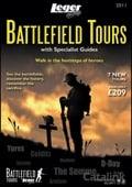 Leger Holidays - Battlefields brochure cover from 24 September, 2010