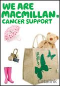 Macmillan Cancer Support Shop brochure cover from 07 August, 2008