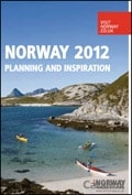 Norway Inspiration 2012 brochure cover from 24 January, 2012