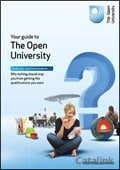 Open University Prospectus brochure cover from 12 April, 2012
