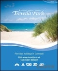 Trevella Holiday Park brochure cover from 07 February, 2012