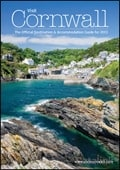 Visit Cornwall brochure cover from 11 December, 2012