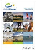 Visit Chichester brochure cover from 14 November, 2013