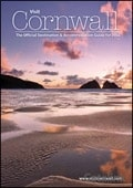 Visit Cornwall brochure cover from 05 March, 2014