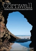 Visit Cornwall brochure cover from 12 December, 2014