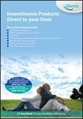 Allanda - Incontinence Products brochure cover from 18 July, 2013