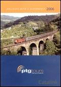PTG Tours - Rail and Culture brochure cover from 16 February, 2006