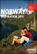 Norway Inspiration 2012 brochure cover from 02 August, 2011
