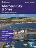 Explore Scotland: Aberdeen City and Shire Where to Stay Guide Brochure