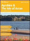 Explore Scotland: Ayrshire and Arran Where to Stay Guide Brochure