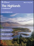 Explore Scotland: The Highlands Where to Stay Guide Brochure