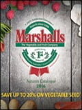 Marshalls Plants & Vegetables Catalogue