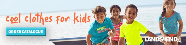 Kids Clothing by Lands End  Newsletter