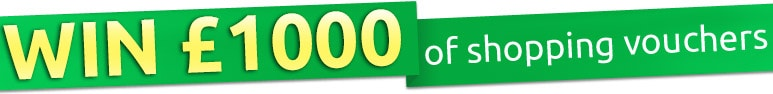 Win £1000 of Shopping Vouchers
