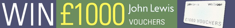 Win £1000 of John Lewis Vouchers